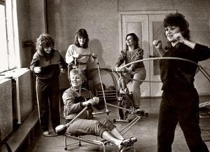 Вихователі в спортзалі (1988)